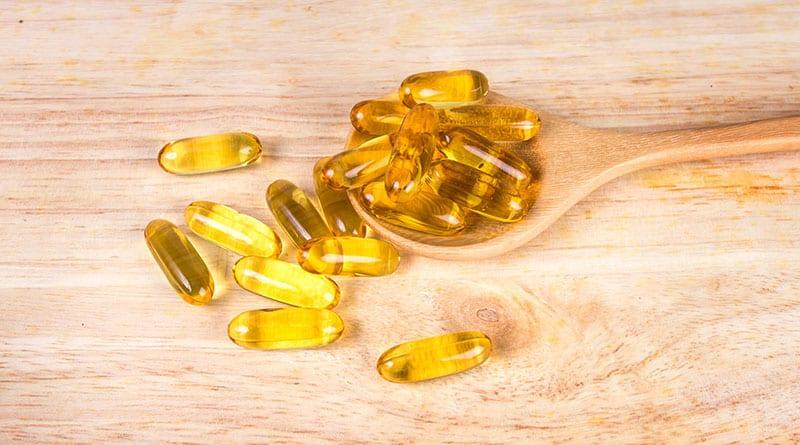 D-vitamiinivalmisteet pöydällä