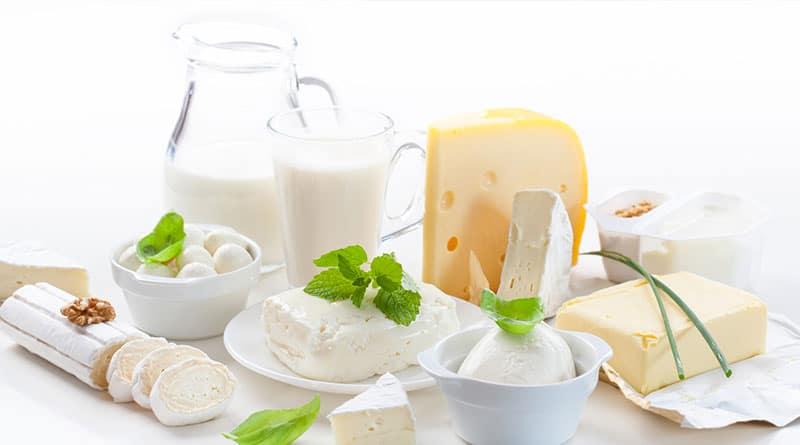 Maitotuotteet hyviä kalsium lähteitä