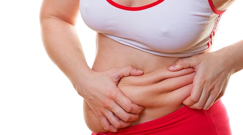 Eroon keskivartalolihavuudesta